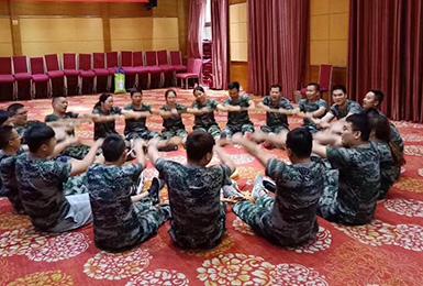 狼牙长沙企业培训案例展示:贵州健兴2019年湖南新员工入职培训